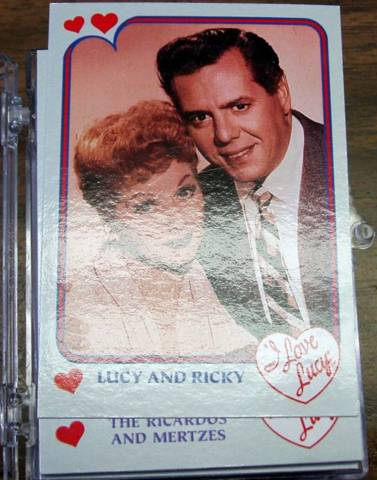 I LOVE LUCY TV PHOTO Card Set © 1991 Pacific