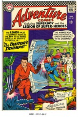 ADVENTURE COMICS #347 © 1966 DC Comics