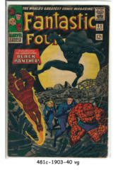 Fantastic Four #052 © July1966 Marvel Comics