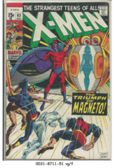 The X-Men #063 © December 1969, Marvel