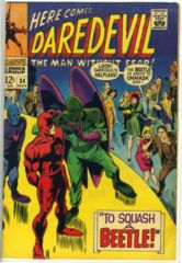DAREDEVIL #034 © 1967 Marvel Comics