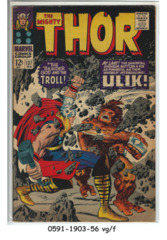 Thor #137 © February 1967 Marvel Comics