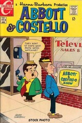 Abbott & Costello #06 © 1969 Charlton