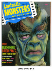Fantastic Monsters of the Films v1#6 © 1963 Black Shield Publication