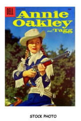 Annie Oakley and Tagg #06 © January-March 1956 Dell Publishing