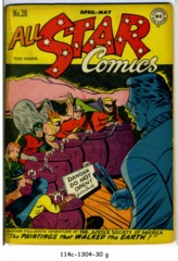 All-Star Comics #28 © April 1946 DC comics