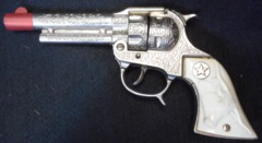 Texan Jr. Toy Cap Gun © 1954 Hubley Die Cast
