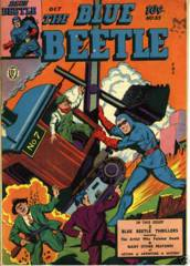 BLUE BEETLE #35 © October 1944 Fox Publication