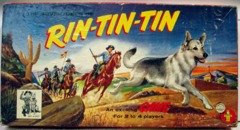 Adventures of Rin Tin Tin Game © 1956 Transogram 3861