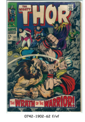 THOR #152 © May 1968 Marvel Comics