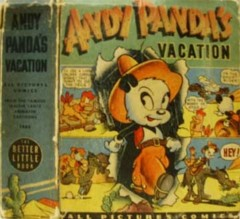 ANDY PANDA'S VACATION © 1946 Whitman Big Little Books 1485