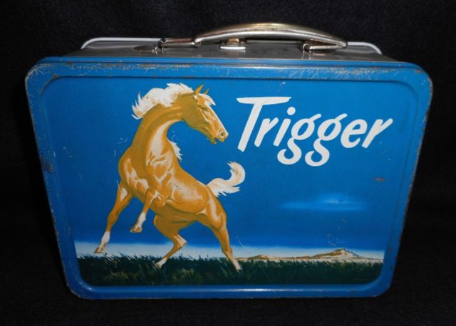 Trigger Lunch Box © 1956 King-Seeley Thermos