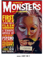 Famous Monsters of Filmland #010 © January 1961, Warren Publishing