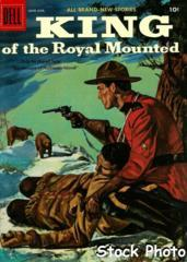 King of the Royal Mounted #21 © June-August 1956 Dell