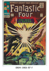 Fantastic Four #053 © August 1966 Marvel Comics