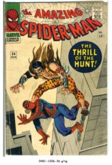 Amazing Spider-Man #034 © March 1966 Marvel Comics