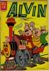 Alvin #04 © 1963 Dell The Three Chipmunks