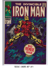 Iron Man #001 © May 1968 Marvel Comics