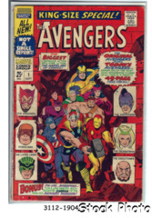 The Avengers Annual #1 © September 1967, Marvel Comics
