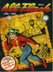ALL FLASH COMICS #8 © Jan/Feb1943 DC Comics