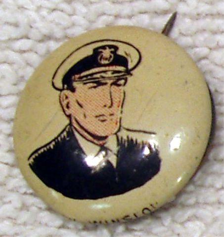 DON WINSLOW © 1946 Kellogg's PEP Pin