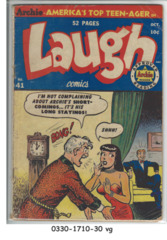 Laugh Comics #41 © October 1950 Archie Comics