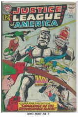 JUSTICE LEAGUE of AMERICA #015 © November 1962 DC Comics