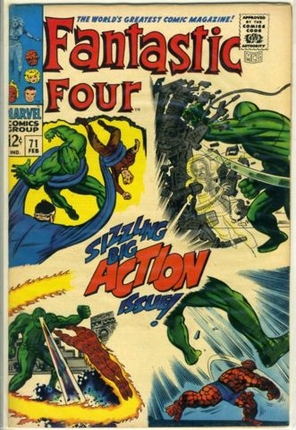 Fantastic Four #071 © February 1968 Marvel Comics
