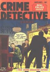 Crime Detective Comics v2#4 © September-October 1950 Hillman