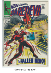 Daredevil #040 © May 1968 Marvel Comics