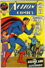 ACTION COMICS #410 © 1972 DC Comics