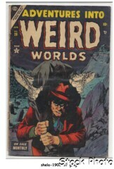 Adventures into Weird Worlds #28 © April 1954 Marvel Comics