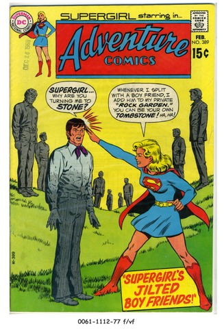 ADVENTURE COMICS #389 © 1970 DC Comics