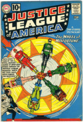 JUSTICE LEAGUE of AMERICA #006 © 1961 DC Comics