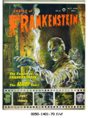 Castle of Frankenstein #03 © 1963 Gothic Castle