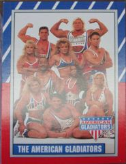 AMERICAN GLADIATORS Sticker & Card Set © 1991 Topps