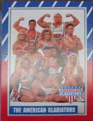 AMERICAN GLADIATORS Sticker & Card Set © 1991 Topps