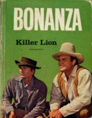 BONANZA, Killer Lion © 1966 Whitman TV Book