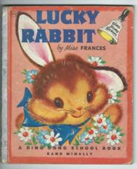 Ding Dong School Luck Rabbit © 1955 Rand McNally #221