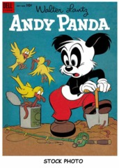 Andy Panda #26 © July 1954 Dell
