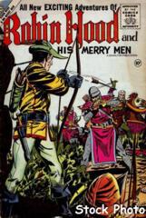 Robin Hood and His Merry Men #28 © April 1956 Charlton