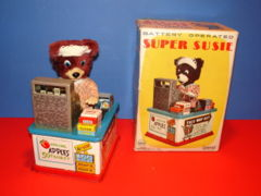 Super Suzie  w/ Box© 1950s Linemar Toys