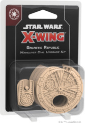 Star Wars X-Wing: 2nd Edition - Galactic Republic Maneuver Dial Upgrade Kit © 2019