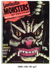 Fantastic Monsters of the Films v1#5 © 1963 Black Shield Publication