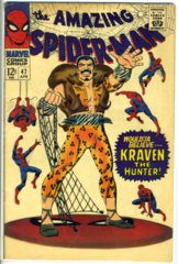 AMAZING SPIDER-MAN #047 © April 1967 Marvel Comics