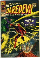 DAREDEVIL #021 © October 1966 Marvel Comics