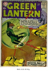 GREEN LANTERN #003 © 1960 DC Comics