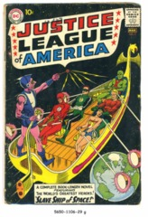 JUSTICE LEAGUE of AMERICA #003 © March 1961 DC Comics