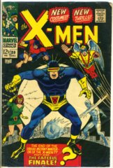The X-MEN #039 © December 1967 Marvel Comics