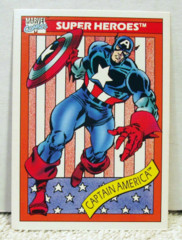 Marvel Universe 1 Card Set w/ Holograms © 1990 Impel